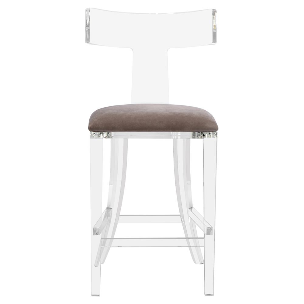 view full size ...  sc 1 st  Kathy Kuo Home : white swivel counter stool - islam-shia.org