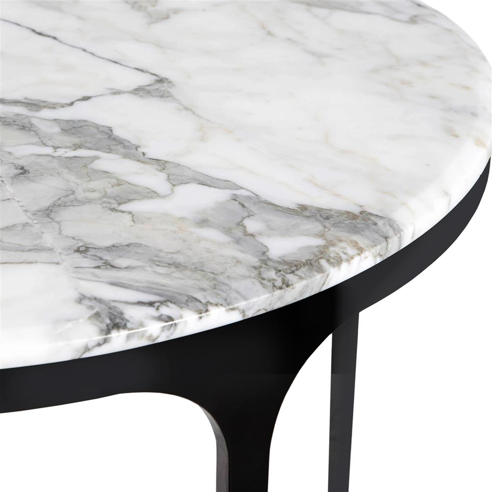 Round Table Ceres Ca.White Marble Round Table Deoverslag