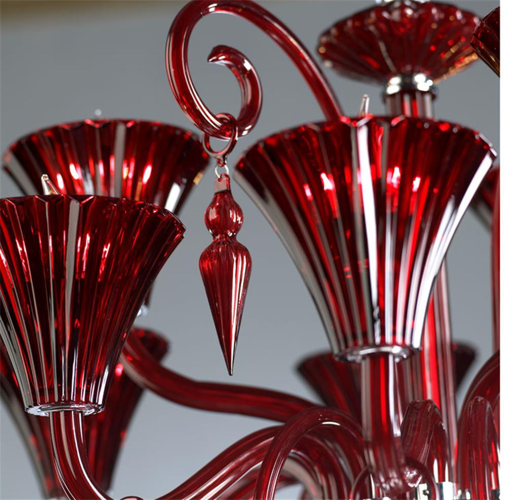 Andretti red glass murano style chandelier kathy kuo home andretti red glass murano style chandelier kathy kuo home view full size aloadofball Choice Image