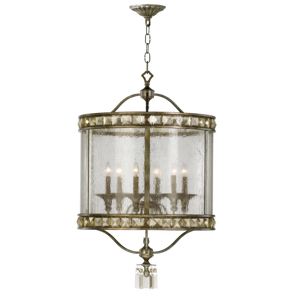 Victorian Foyer Lighting : Buckingham victorian champagne crystal light entryway