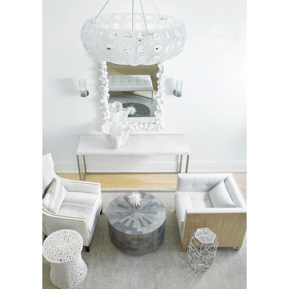 Oly Studio Adeline Grey Mosaic Coffee Table