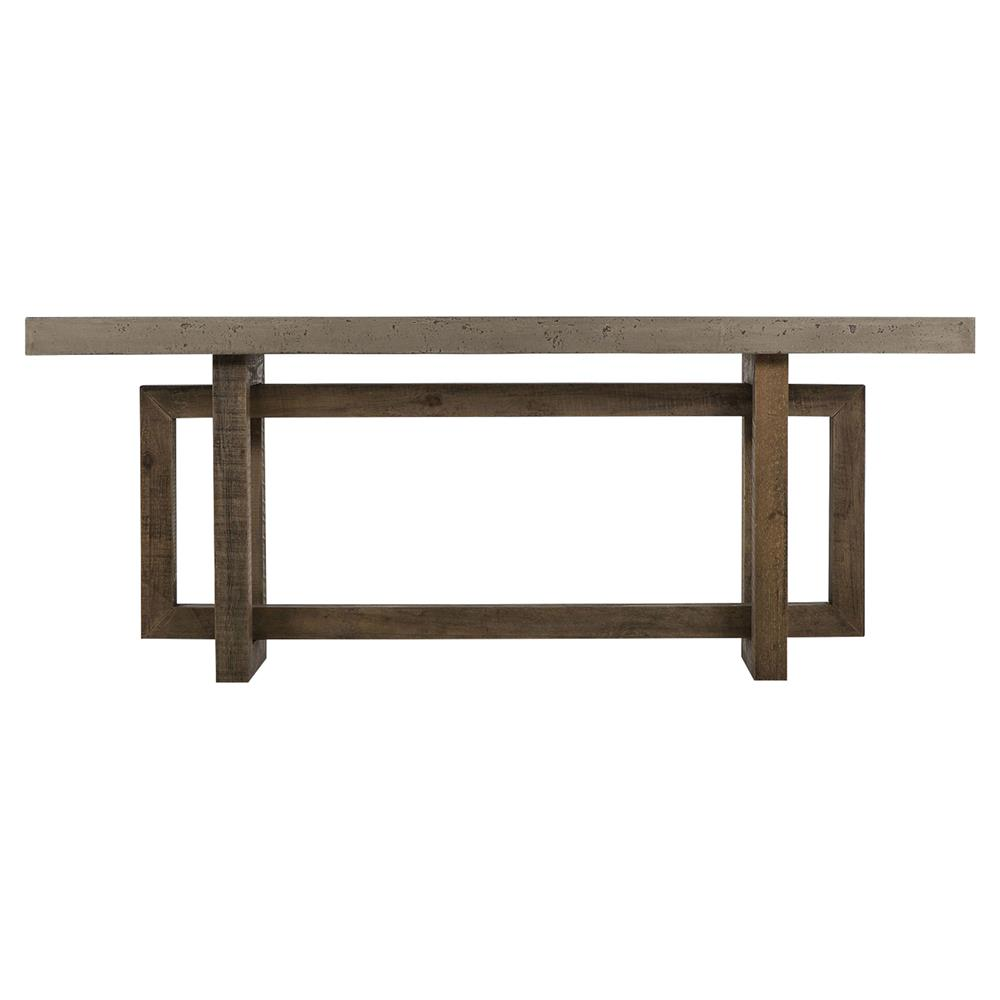 ... Concrete Console Table | Kathy Kuo Home. View Full Size ...