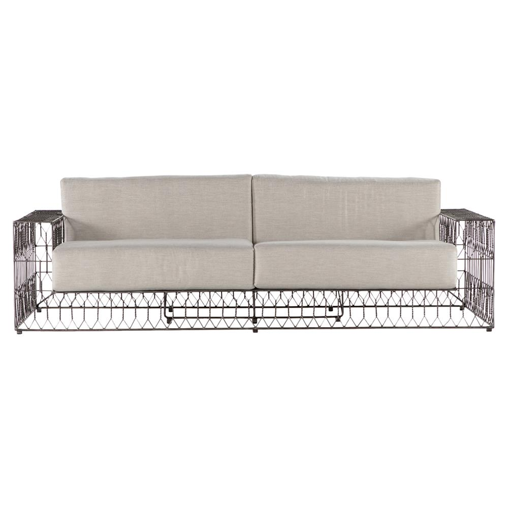 Metal Outdoor Sofa Metal Outdoor Furniture Williams Sonoma