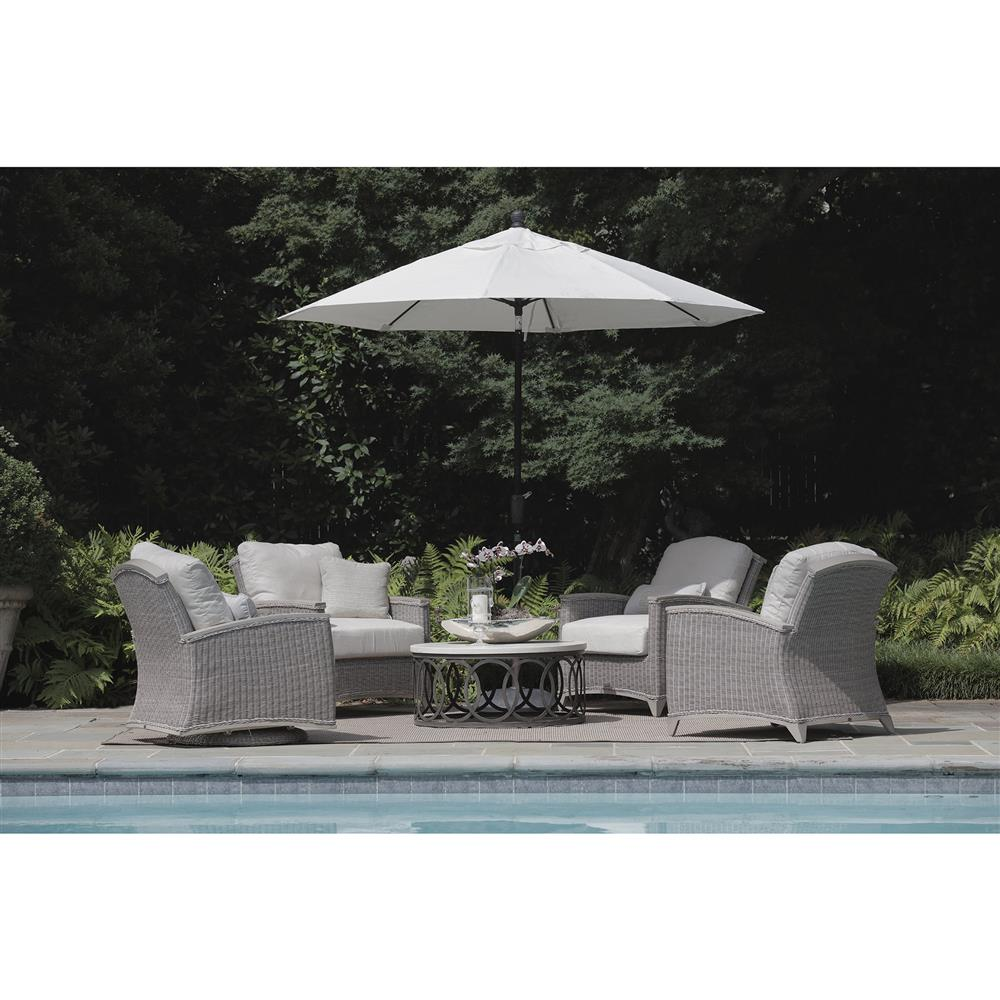 Outdoor Coffee Table Oval