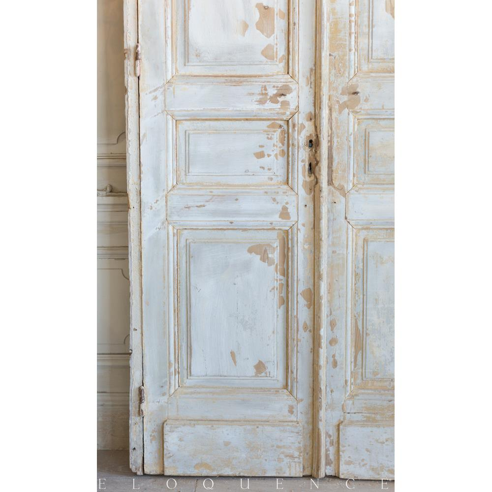 French country style vintage doors 1940 kathy kuo home for French style doors