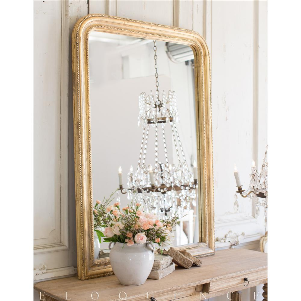French country style vintage style mirror 1940 kathy for Vintage style mirrors