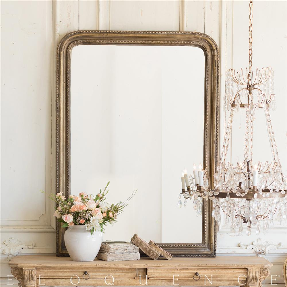French country style vintage style mirror 1940 kathy for Old style mirror