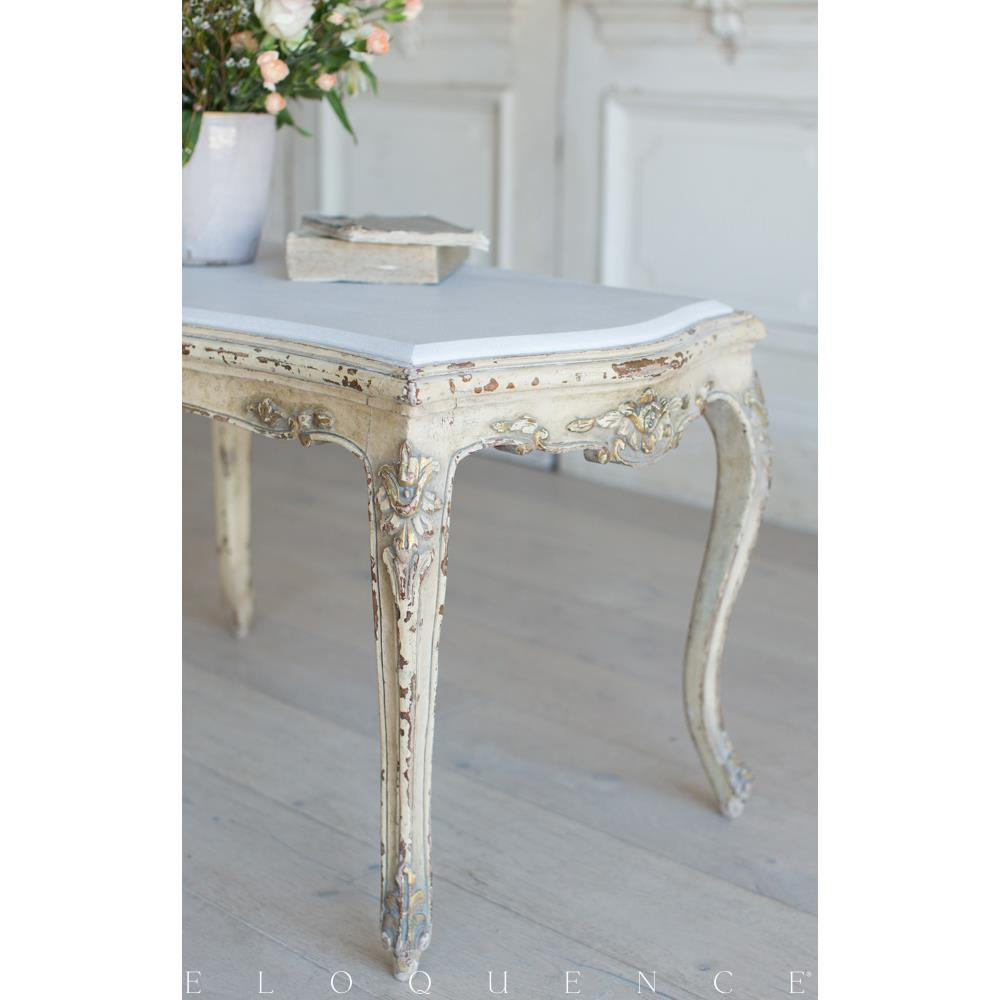 French Country Style Vintage Coffee Table: 1940