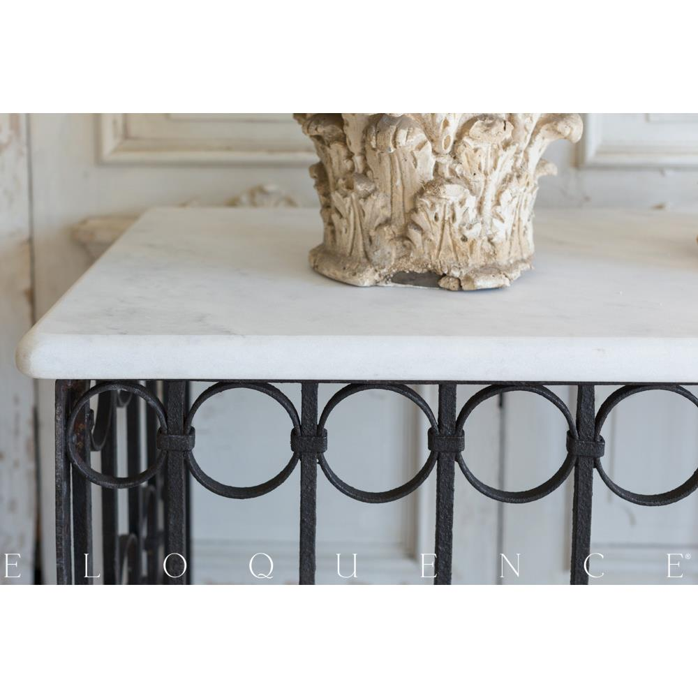 French country style vintage balcony console 1940 kathy for Balcony console