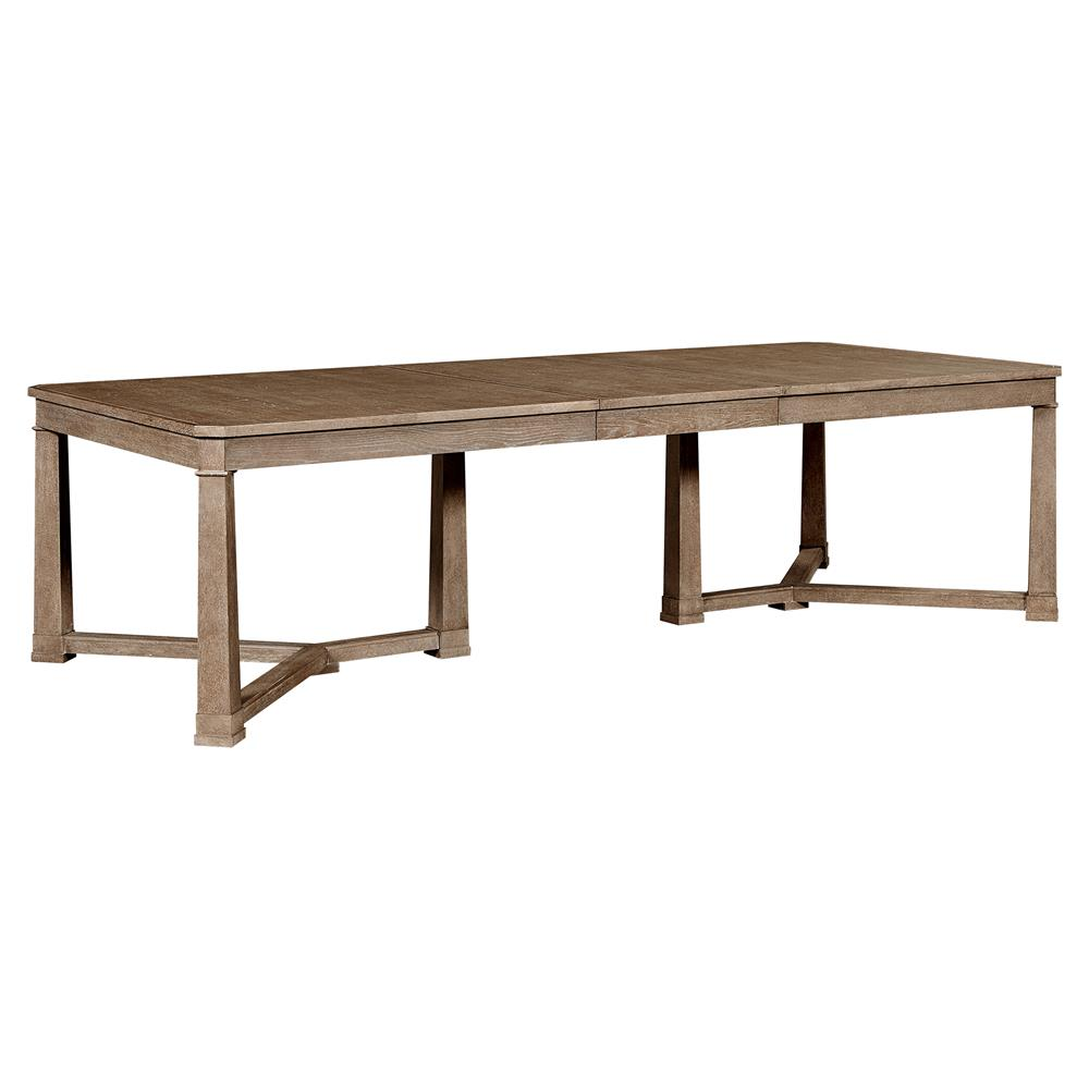 Michelle Modern Classic Maple Rectangular Extension Dining Table