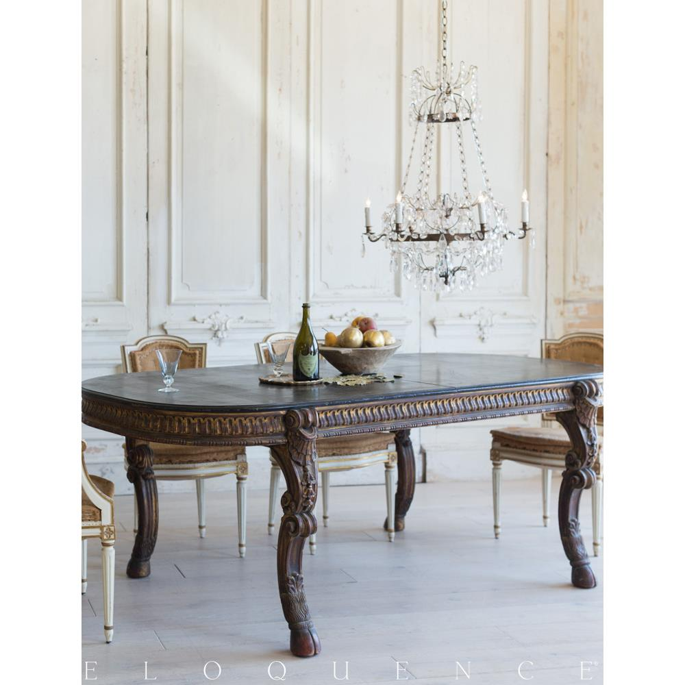 Dining Tables Country Style: French Country Style Vintage Extendable Dining Table: 1940
