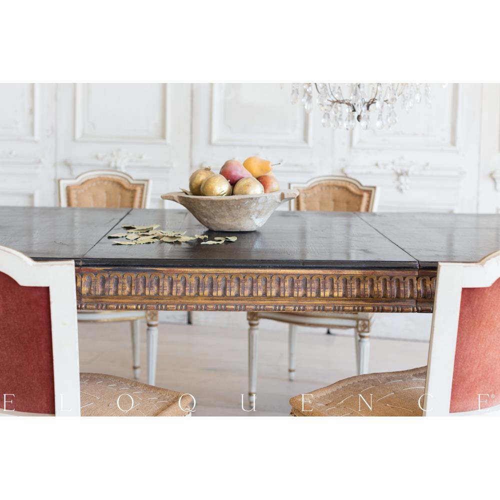 French Country Style Vintage Extendable Dining Table: 1940 | Kathy ...