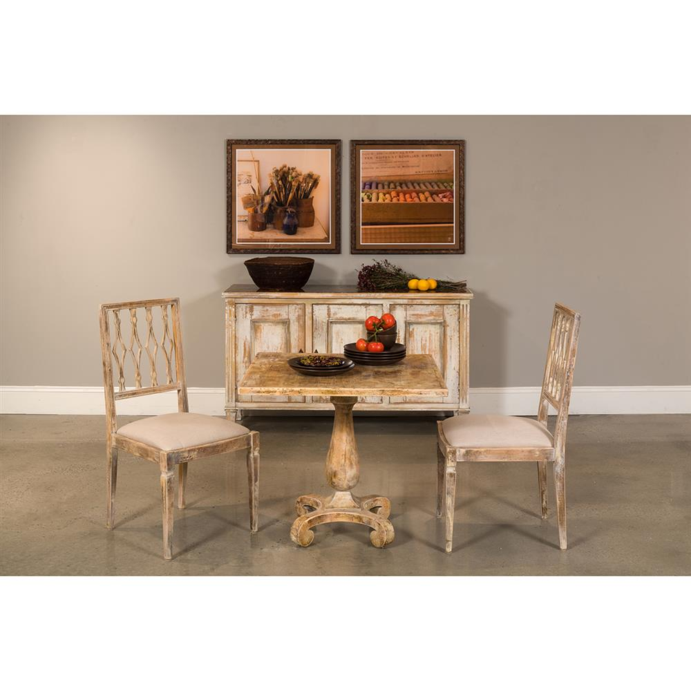 Distressed Bistro Table Shop Zuo Modern Peaks