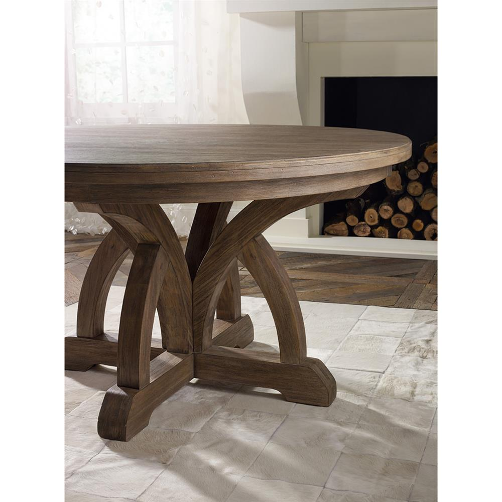 Vadim French Country Round Pedestal Dining Table Kathy Kuo Home View Full Size