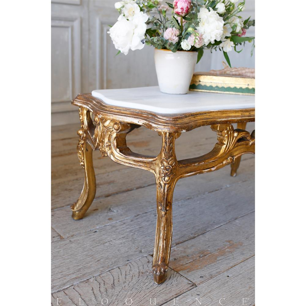 French Country Distressed Coffee Table: French Country Style Eloquence® Vintage Coffee Table With