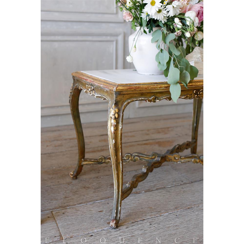 French Country Style Eloquence® Vintage Coffee Table With