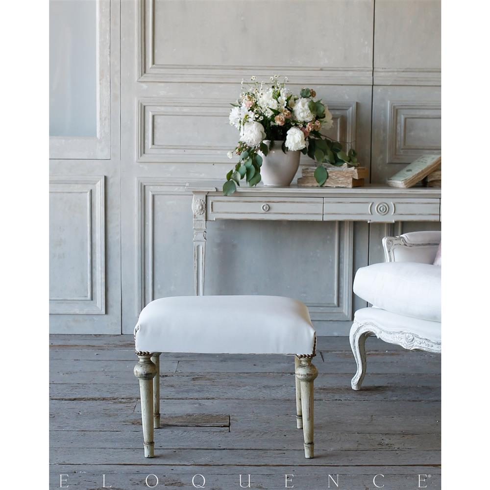 French Country Style Eloquence Vintage Bench 1940