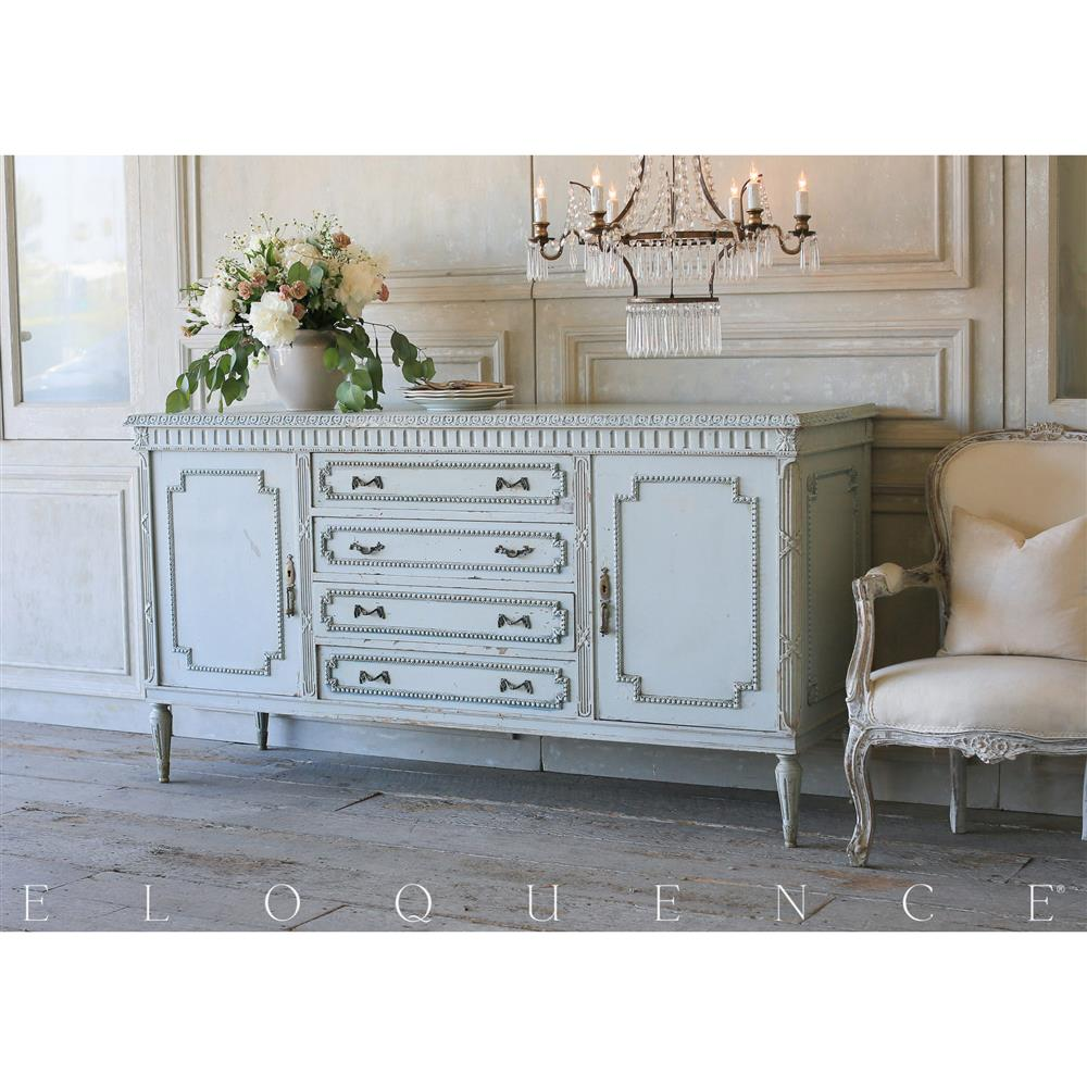 view full size ... - French Country Style Eloquence® Vintage Sideboard: 1940 Kathy Kuo