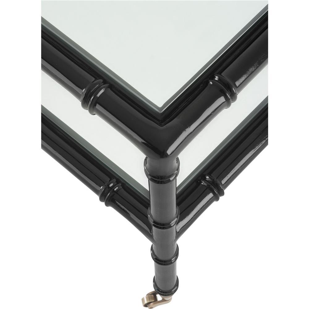 Eichholtz Mullins Global Bazaar Beveled Glass Top Square