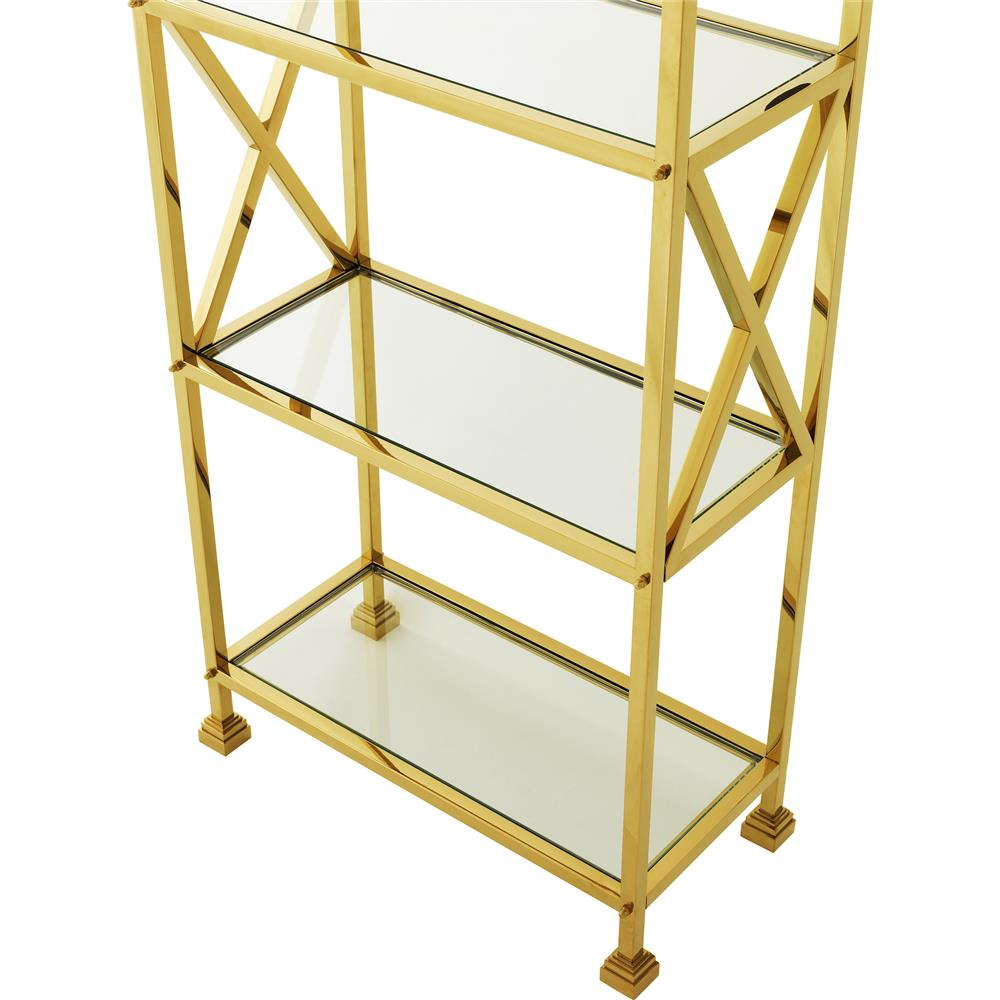 htm standing furniture gl crosley bookcase zoom hover glass gold aimee shelves to productdetail free etagere