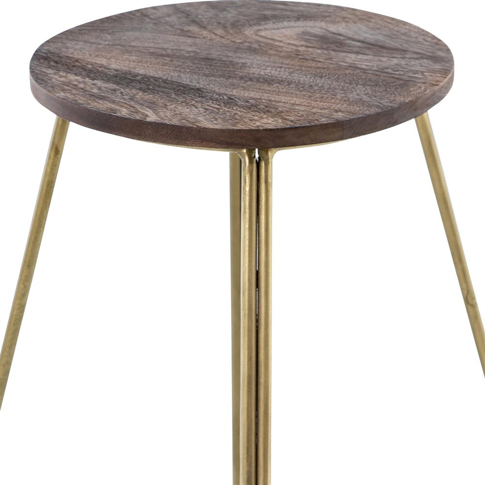 welton industrial modern antiqued brass wood counter bar stool. Black Bedroom Furniture Sets. Home Design Ideas