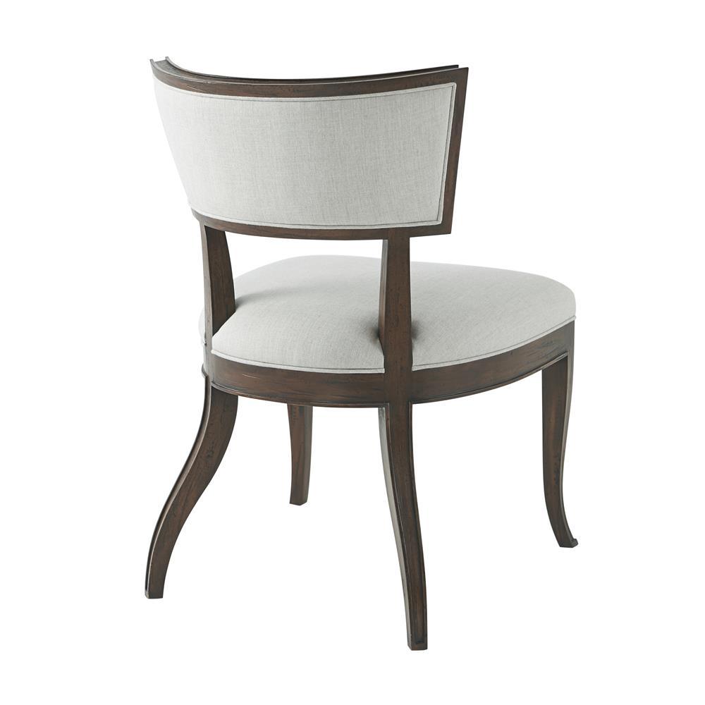 Pecan Wood Furniture Dining Room: Theodore Alexander Sadowa II Heather Grey Aged Pecan