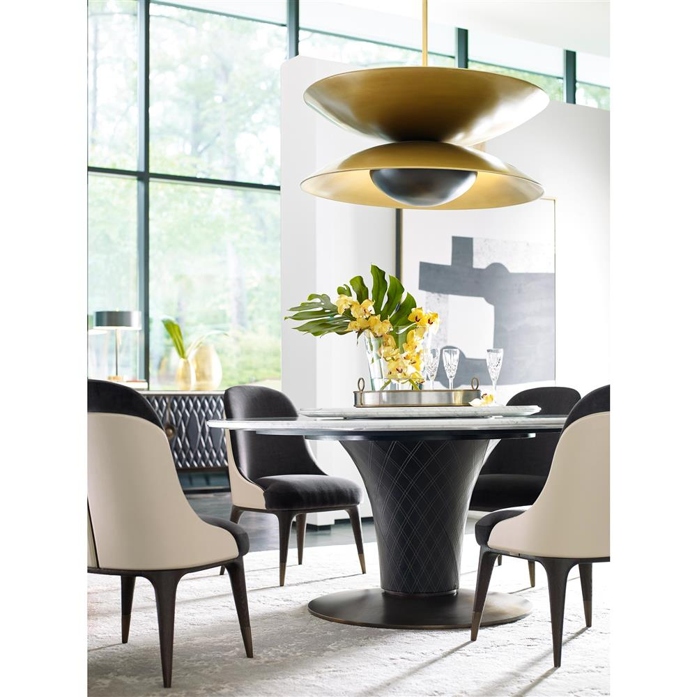 ... Lazy Susan Round Dining Table | Kathy Kuo Home. View Full Size ...