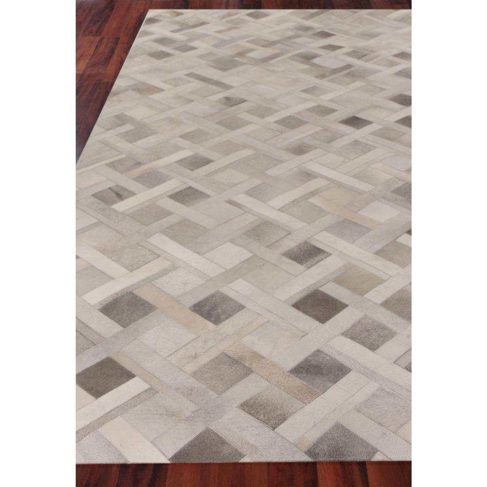 Modern Nature Rug: Exquisite Rugs Natural Hide Modern Classic Geometric