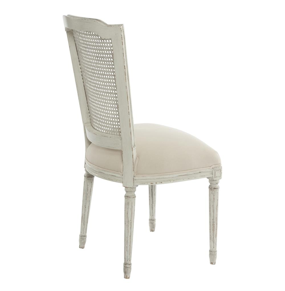 Pair French Country Antique White Slip Cover Dining Chair  : product27315 from www.kathykuohome.com size 1000 x 1021 jpeg 43kB