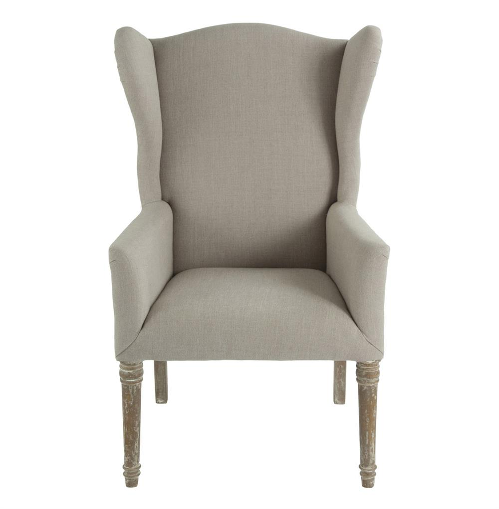 Eli French Country Wing Back Dining Occasional Chair Dark  : product27382 from kathykuohome.com size 1000 x 1021 jpeg 49kB