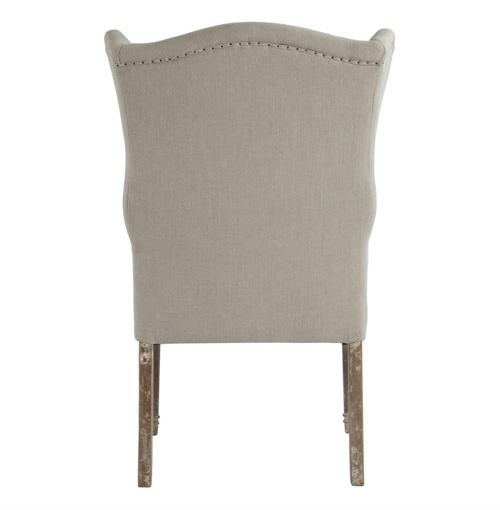 Eli French Country Wing Back Dining Occasional Chair Dark  : product27385 from www.kathykuohome.com size 1000 x 1021 jpeg 51kB