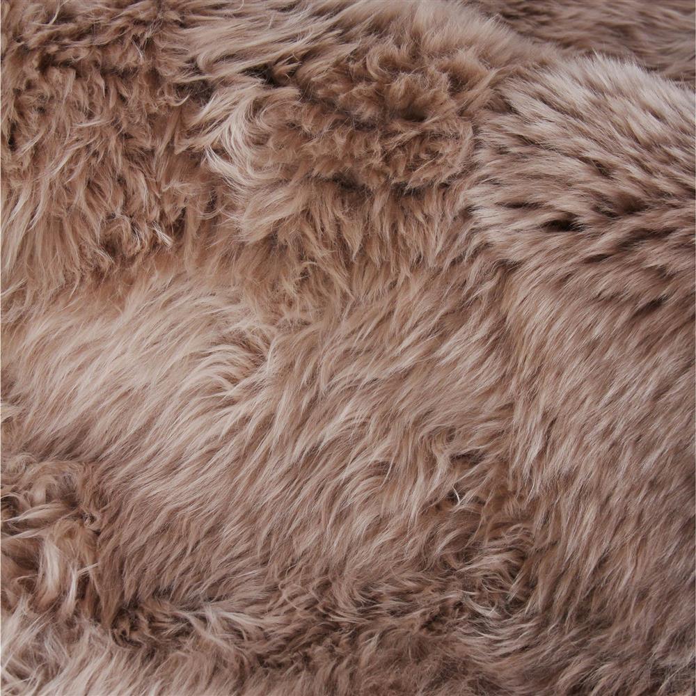 Exquisite Rugs Sheepskin Modern Classic Light Brown Fur