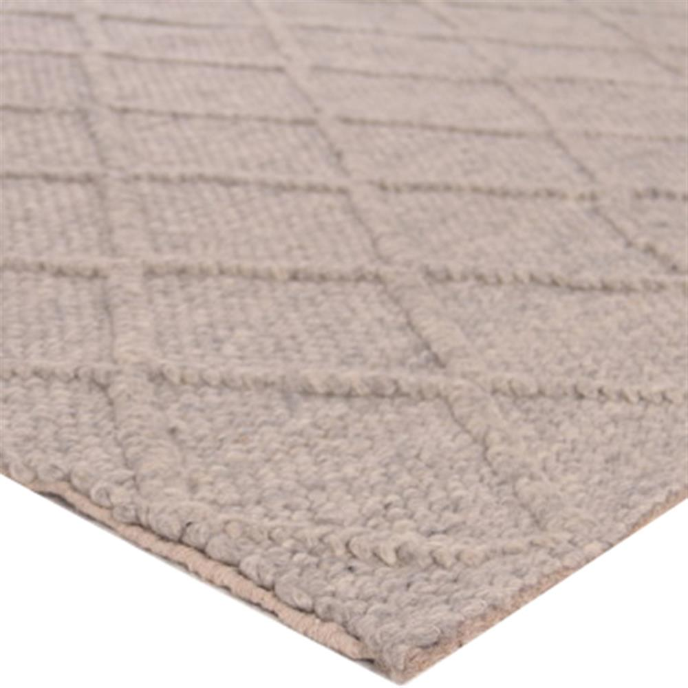 Completely new Exquisite Rugs Brentwood Modern Classic Diamond Pattern Beige Wool  GX42