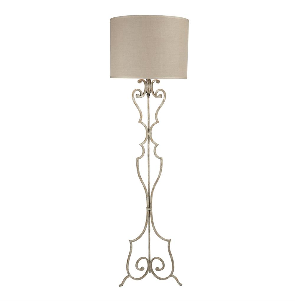 ... Wrought Iron Floor Lamp   Kathy Kuo Home · View Full Size ...