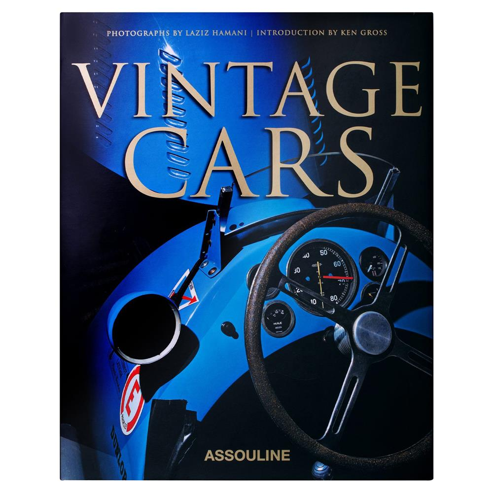 Vintage Cars Assouline Hardcover Book | Kathy Kuo Home
