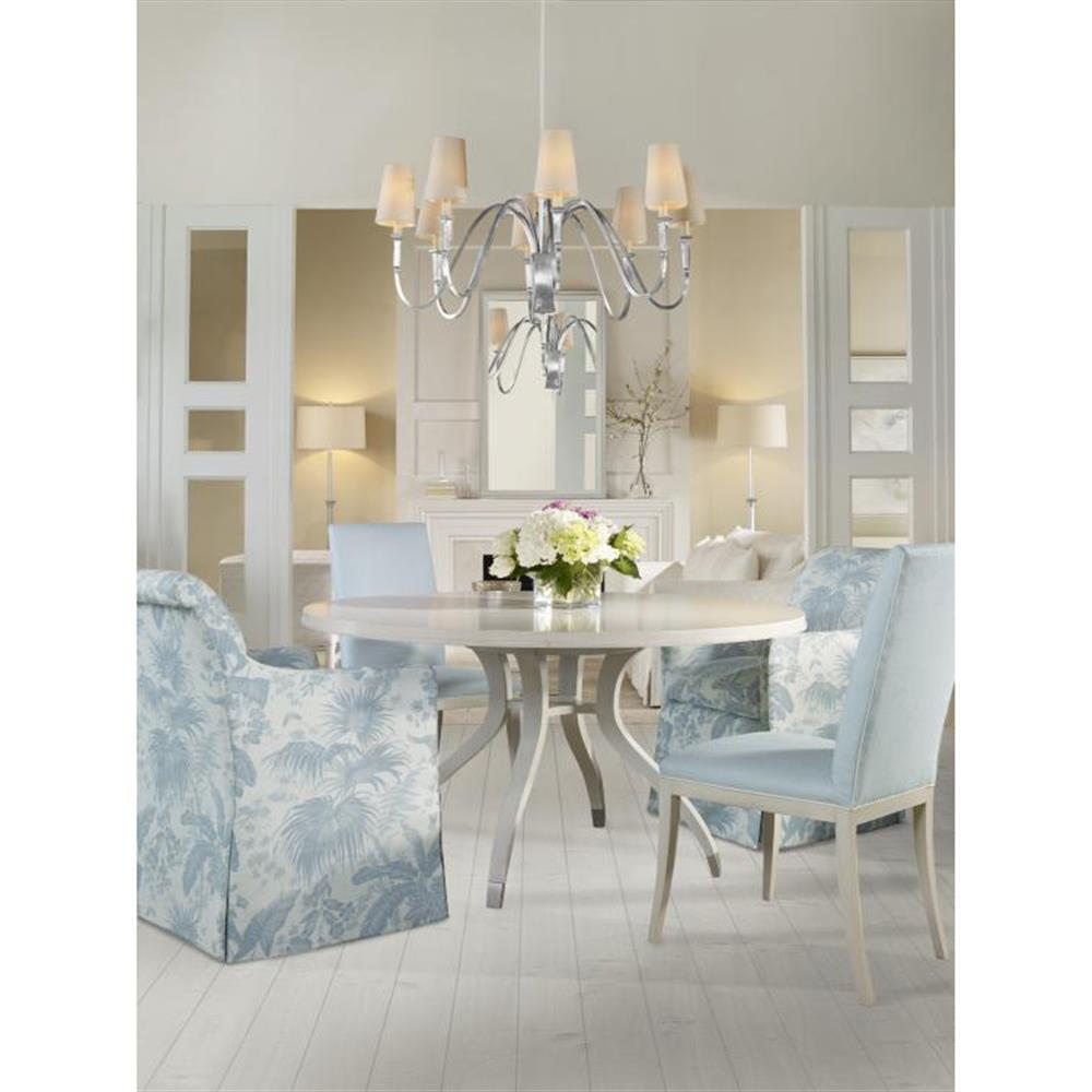 Modern Oak Dining Tables: Highland House Simon Modern Classic White Oak Solid Round
