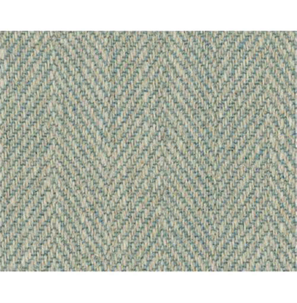 hayden modern elegant herringbone linen slipper chair and ottoman