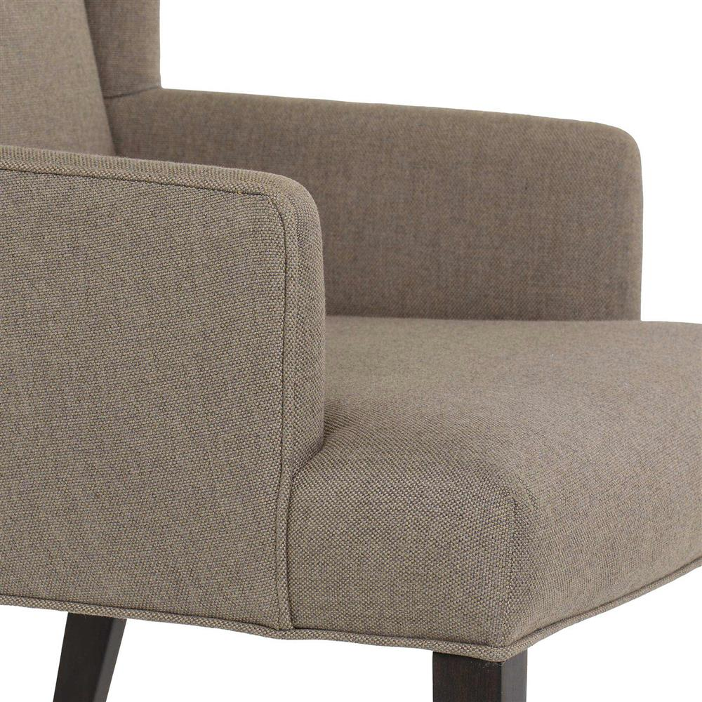 Dining Room Arm Chairs Upholstered: Maison 55 Lawson Modern Classic Linen Upholstered Wood