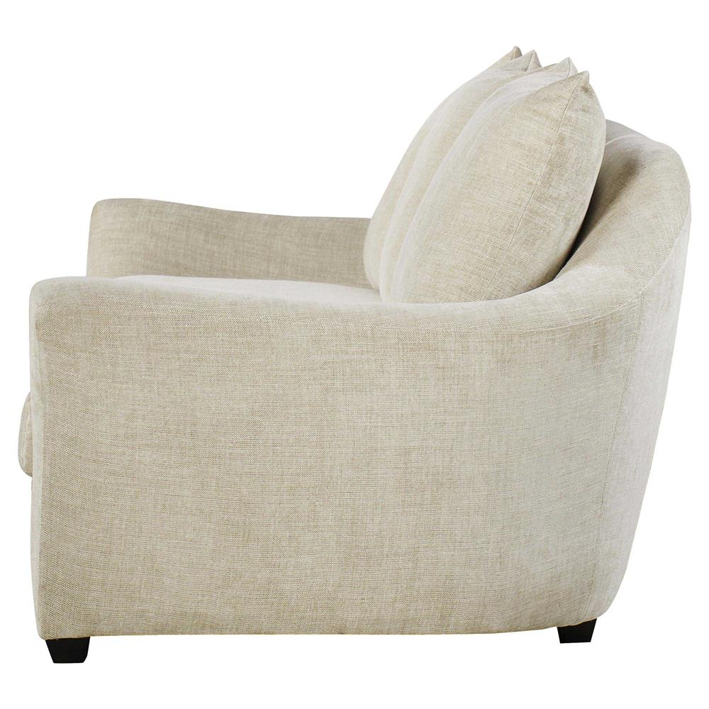 Exceptionnel ... Andrew Martin Sofia Modern Classic White Wood Frame Sofa Sectional |  Kathy Kuo Home