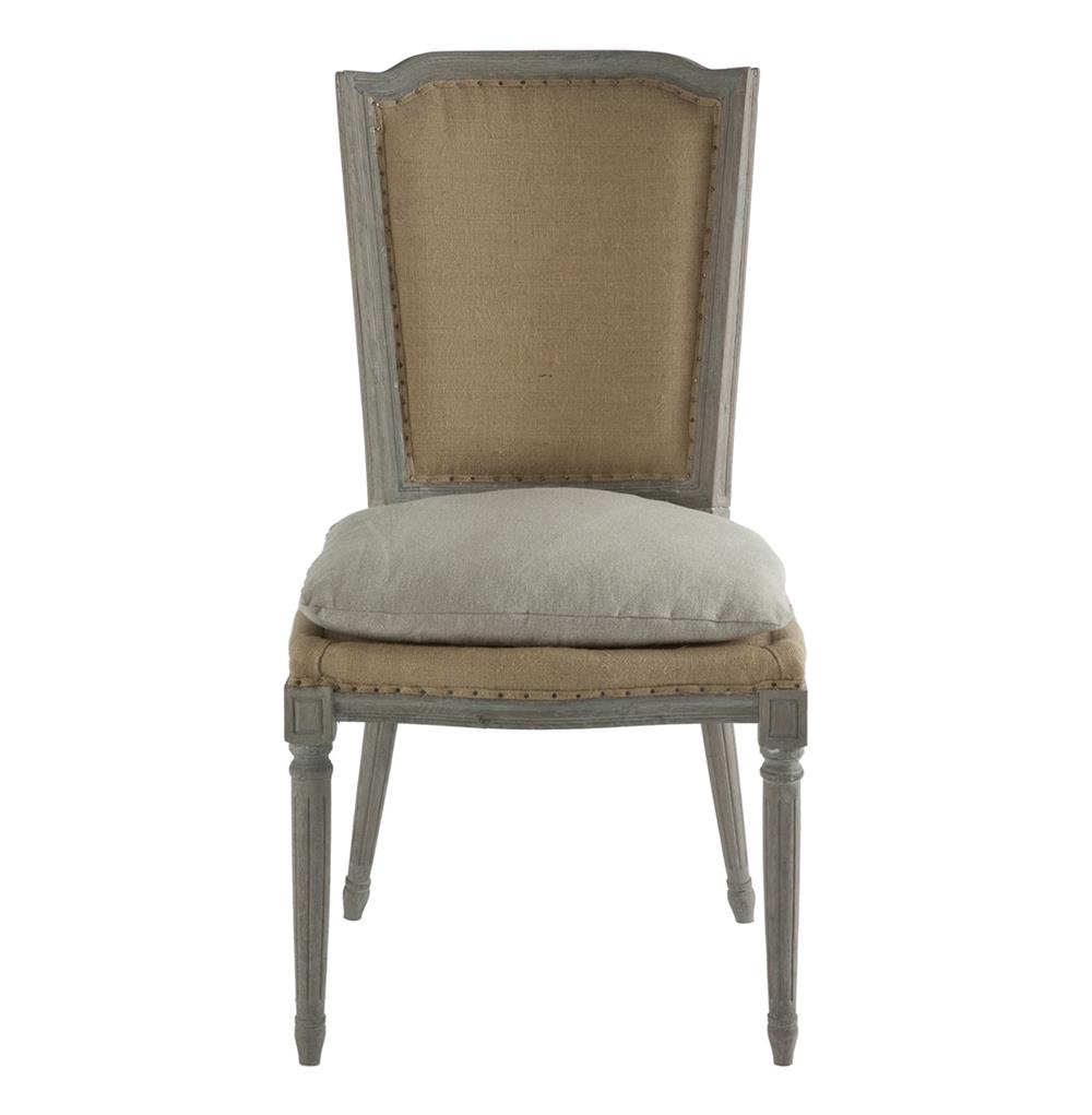 Pair Ethan French Country Rustic Hemp Dining Chair with ...
