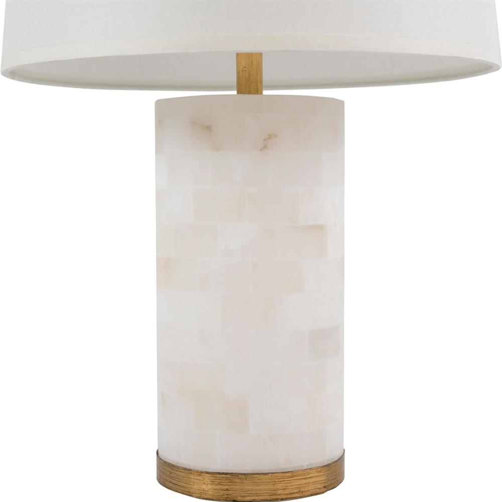 ... Maria Modern Classic Alabaster White Gilded Gold Table Lamp | Kathy Kuo  Home ...