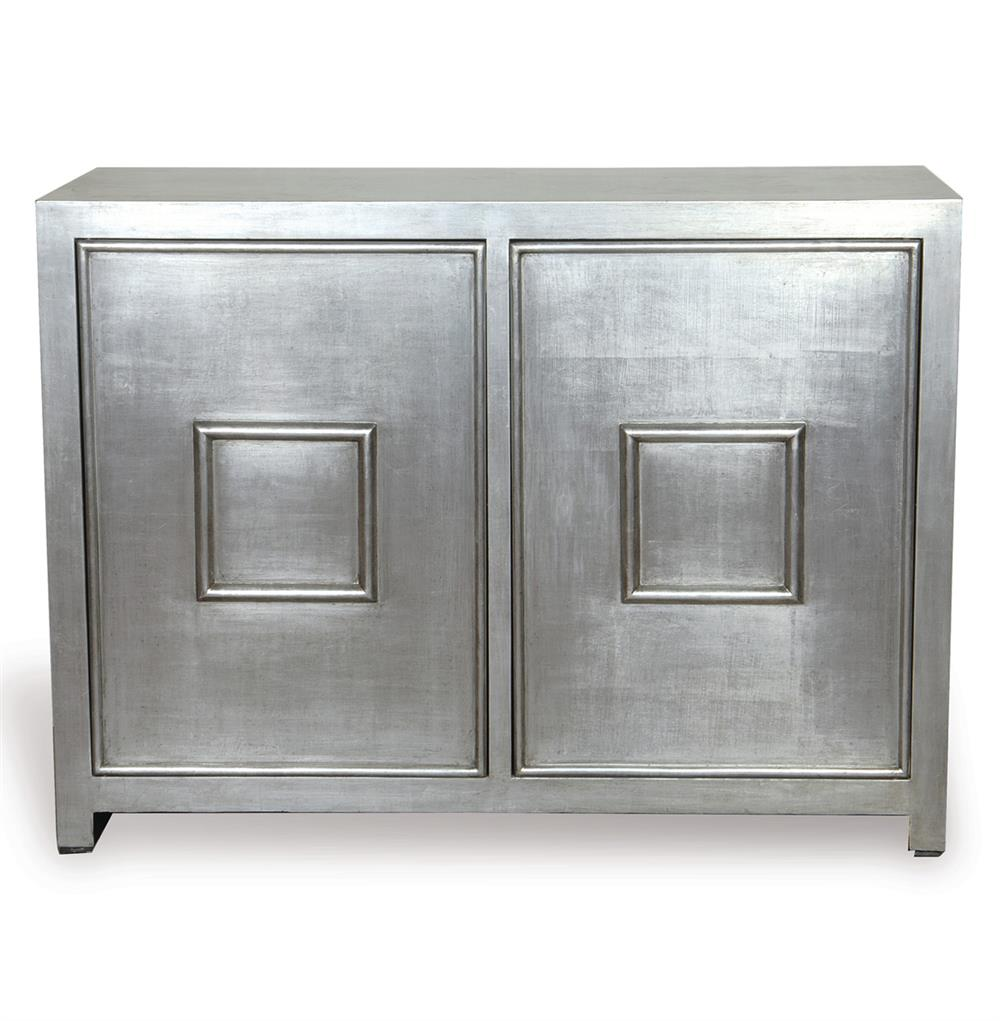 park avenue hollywood regency style silver leaf cabinet kathy kuo home