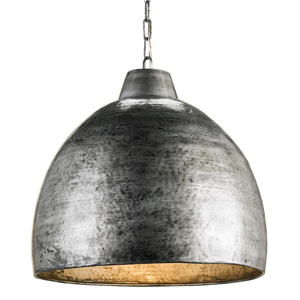 Industrial Loft Hammered Metal Modern 1 Light Pendant | Kathy Kuo Home ·  View Full Size ...