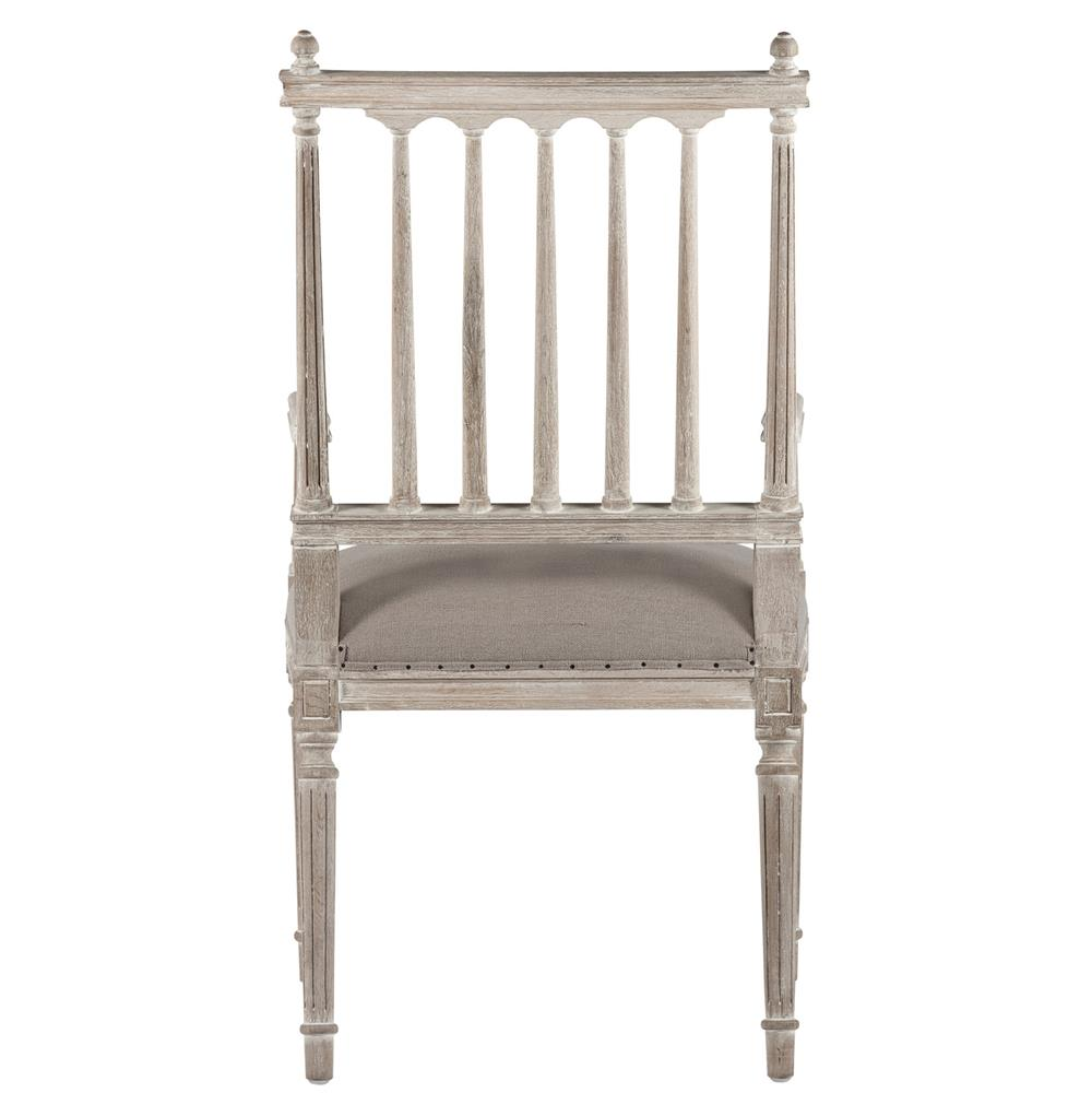 Coyle Shabby French Antique White Dining Arm Chair Kathy  : product40403 from www.kathykuohome.com size 1000 x 1021 jpeg 54kB