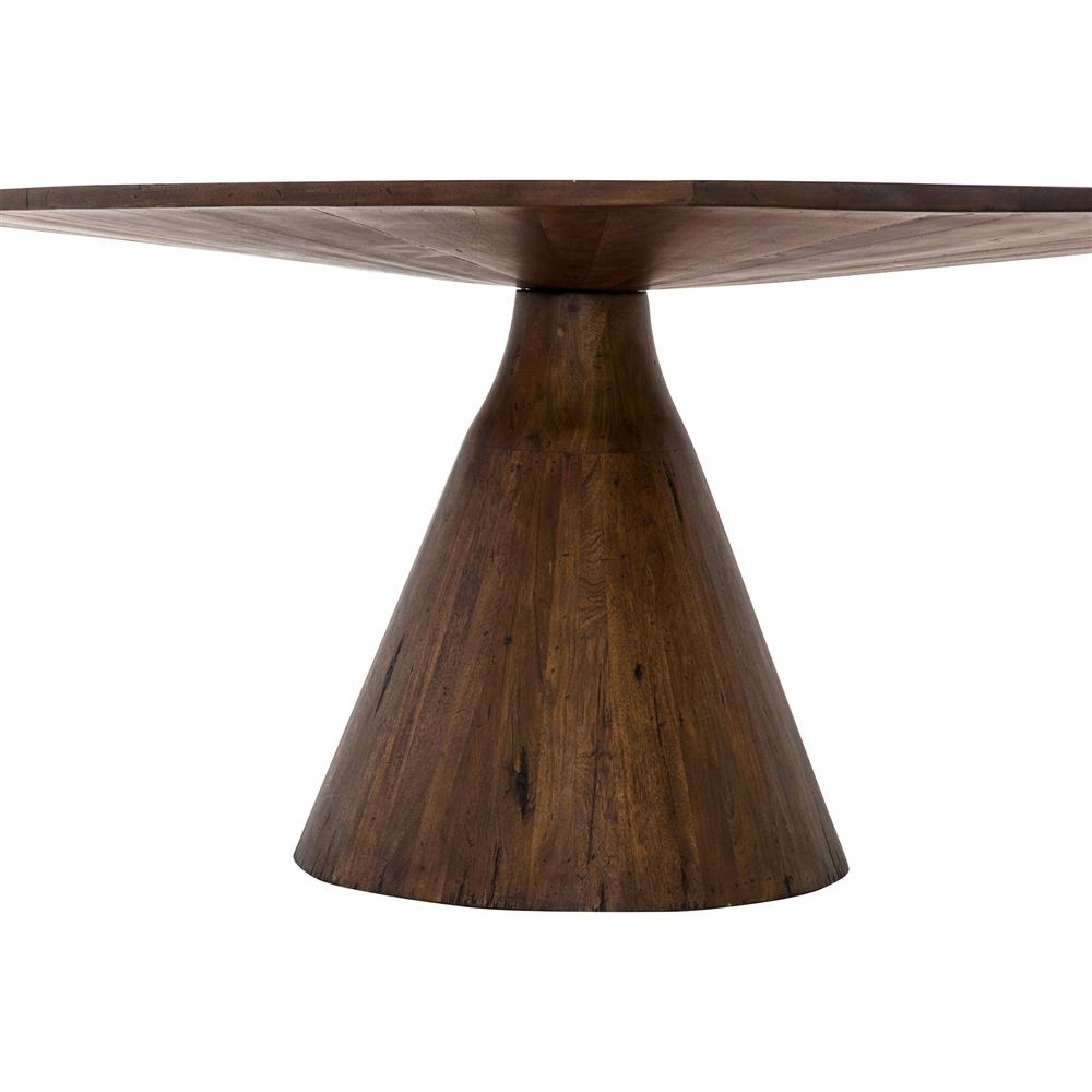 Antonio Modern Classic Nature Inspired Oval Top Wood