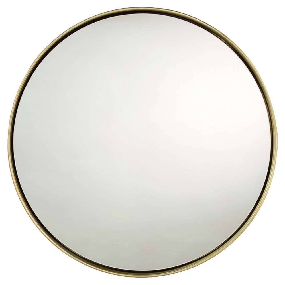 Obsie Modern Simple Round Ring Mirror Gold Kathy Kuo Home