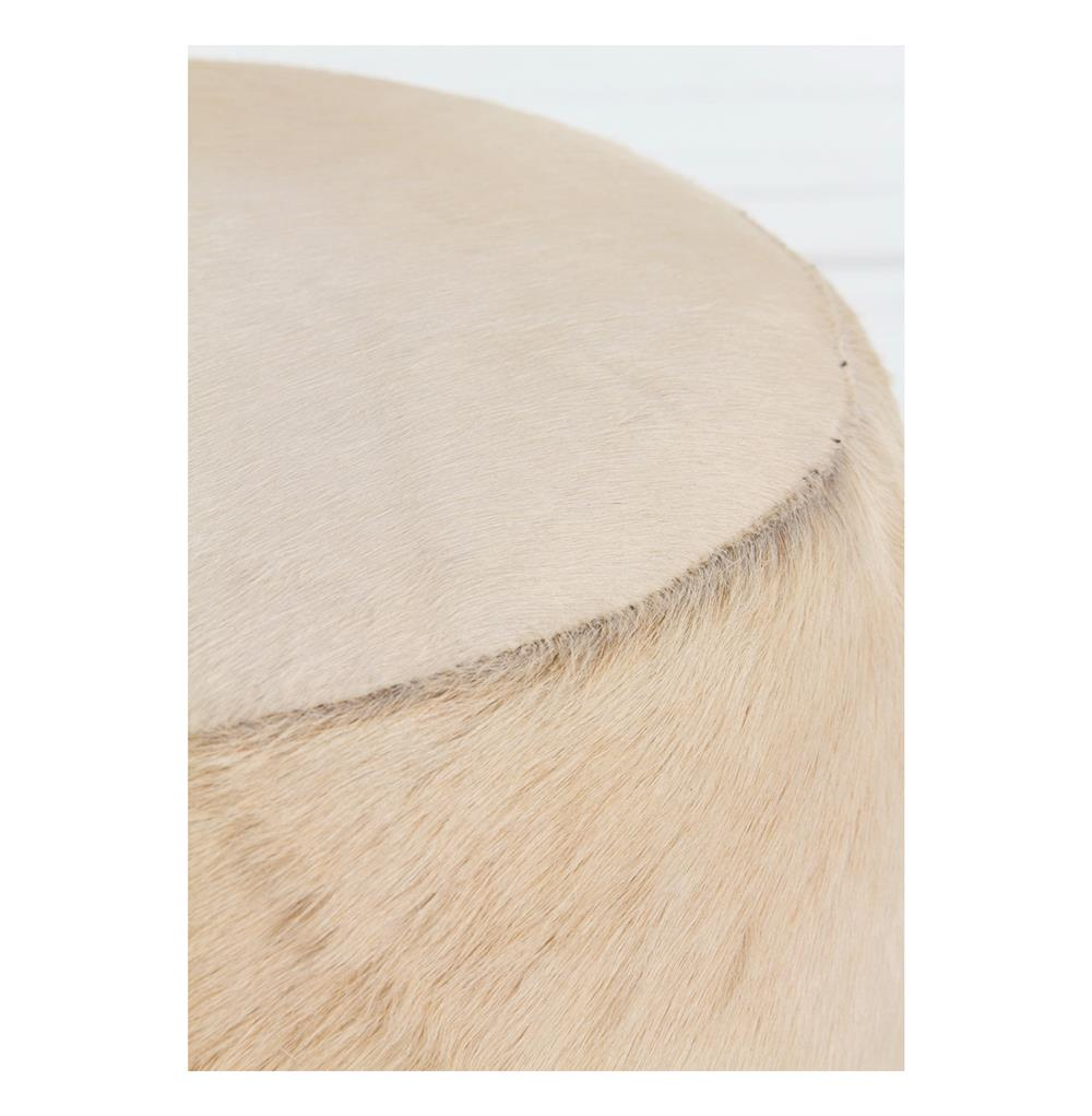 Arteriors Wimberley Modern Rustic Ivory Hair On Hide