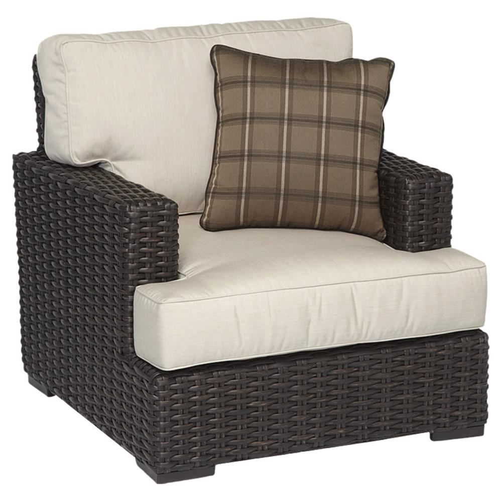 Ordinaire ... Dark Brown Wicker Outdoor Chair | Kathy Kuo Home. View Full Size ...