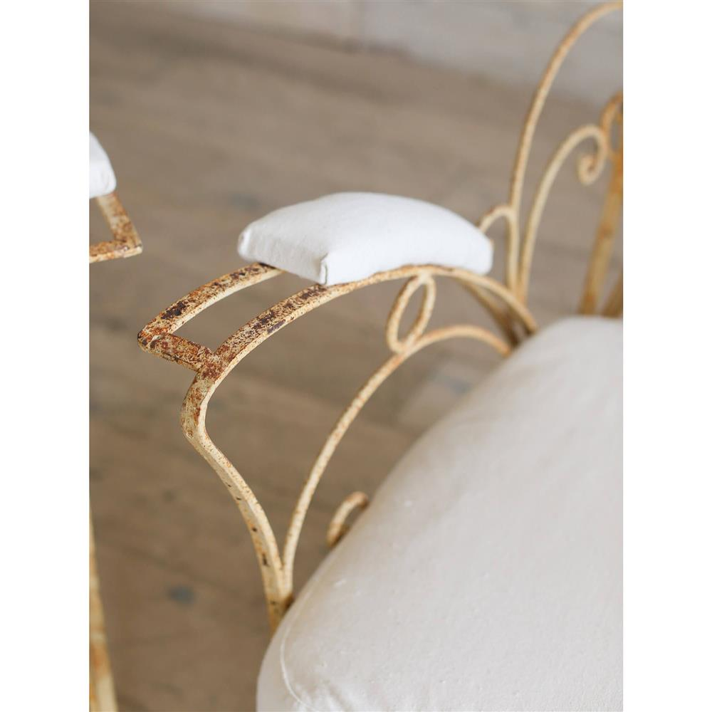 Eloquence French Country Style Vintage Garden Chairs - Set ...