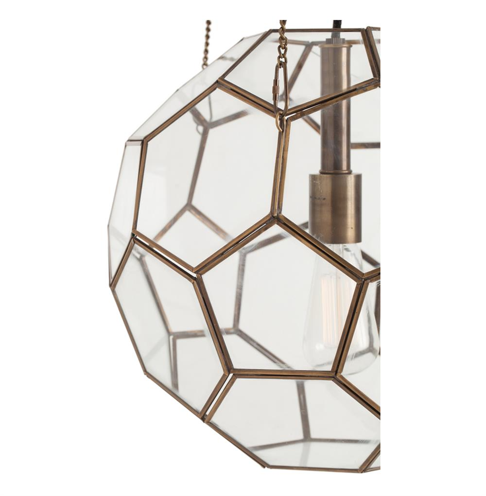 Beck Brass Glass Faceted Geometric Modern Vintage Pendant  : product49181 from www.kathykuohome.com size 1000 x 1021 jpeg 59kB